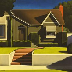 Kenton Nelson this style to simplify my pre-40's painting ideas