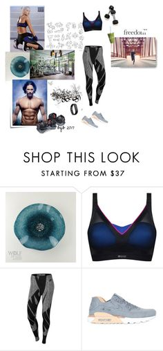 """""""Freedom"""" by hannover ❤ liked on Polyvore featuring Post-It, Shock Absorber, ISAORA and NIKE"""