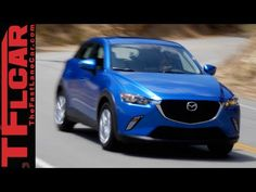 2016 Mazda CX-3 AWD Snowy Rocky Mountain Off-Road Review - YouTube
