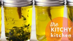 INFUSED OIL: 5 WAYS // THE KITCHY HACK - The Kitchy Kitchen
