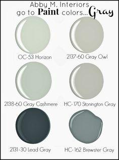 Favorite Grays