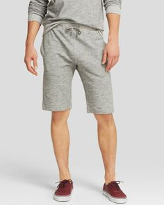 Theory Moris Nc Terry Shorts - Bloomingdale's Exclusive
