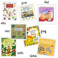 Bücher für Kleinkinder Bilder Bücher ab 1 Jahr Lieblingsbücher meiner Tochter Erfahrungen Tipps Kinderbücher Fühlbücher Bücher mit Ton und Wimmelbücher