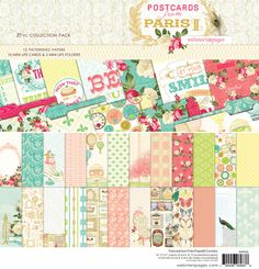 NEW! Postcards From Paris II 12x12 Collection Pack!  http://websterspages.typepad.com/webstershome/2013/07/my-entry.html