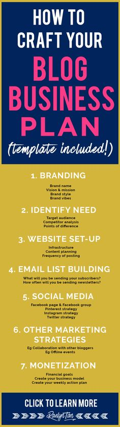 15 Best How To - Business Plan Images On Pinterest Business
