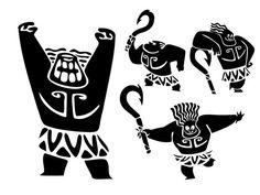 10 Mini Maui Svg Vector Clipart Moana Svg Maui Tattoo Clipart Files In Svg Png Eps And Ai Maui Tattoo Maui Tattoos Moana Moana Tattoos