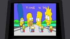 The Simpson. Arcade game