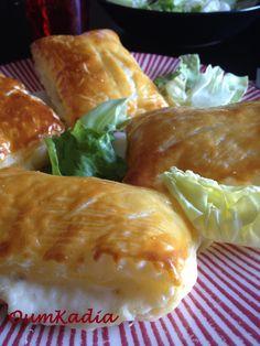 Tout le monde connait les petits friands au fromage?? les petits rectangles en pâte feuilletée garnis de béchamel et de fromage??? Le genre d'entrée qui, quand vous mangez à la cantine, est en...