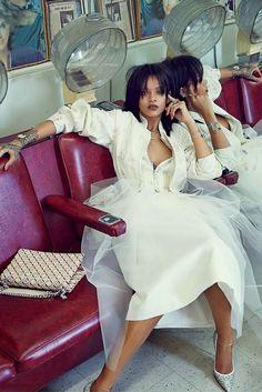 Spring 2015. Rihanna by Dennis Leupold for W Korea March 2015.