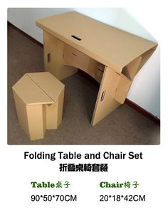 aliexpresscom buy foldable office table desk. Diy Cardboard Furniture Paper Table With Chair Set, Corrugated Furniture, Folding Desk Aliexpresscom Buy Foldable Office B
