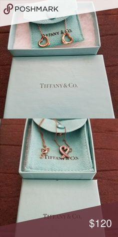 Tiffany & Co. Palma Picasso Loving Heart pendant Sterling silver, mini.   I've had it for a while but it's still in beautiful  condition. It just needs to be polished since I haven't worn it in years.   It's 100% authentic, bought from Tiffany's in Century City, California.  Make me an offer.  I ship fast. Jewelry Necklaces