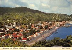Vincent /& The Grenadines St Mary/'s Church Kingstown St Caribbean --- Postcard
