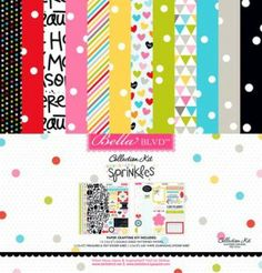 Papercrafting Mid-Season Product Releases: Bella Blvd - Scattered Sprinkles - Collection Kit (image)
