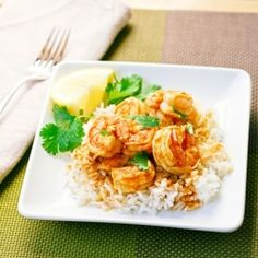 A spicy Mozambique shrimp and rice dish. #foodgawker
