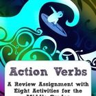In+this+packet,+find+a+review+assignment+that+students+might+use+if+they+need+a+refresher+about+action+verbs.++I+have+taken+very+short+passages+from+popular+Y.A.+novels+as+practice.++Also+included+is+a+set+of+learning+activities+that+connect+with+Gardner's+Multiple+Intelligences.