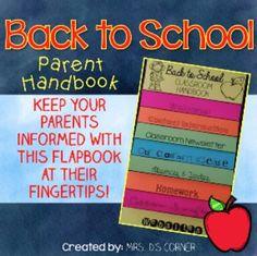 FREEBIE parent handbook
