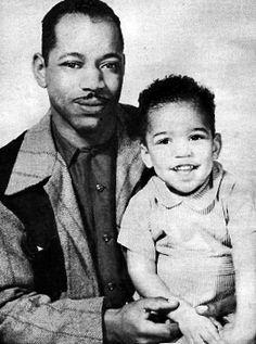 Early 1940s --  Baby Jimi Hendrix