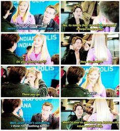 I wish this scene was in the movie. John Green could of been in his own movie