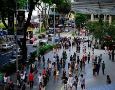 Not a huge shopping fan but another reason to visit Singapore - Orchard Road.