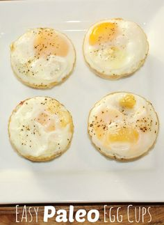 Easy Breakfast Recipes: Paleo Egg Cups #15MinuteSuppers