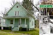 Jamestown New York Lucy's childhood home