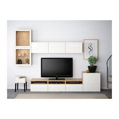 IKEA BESTÅ TV storage combination/glass doors