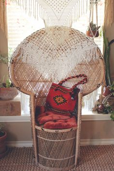 82 best PEACOCK chairs images on Pinterest in 2018   Armchair     Style  The Zapotec Rug Tote  Bohemian houseBohemian DecorBohemian decorPeacock  ChairRATTAN