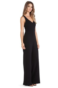 Jay Godfrey Mayfield Jumpsuit in Black