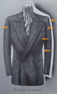 The London Drape suit, design commonly credited to Dutch tailor Frederick Scholte