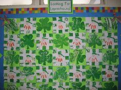 Loved the hand prints.    Might make a quilt like this for area and perimeter!