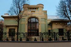 Особняк А. И. Дерожинской. Кропоткинский переулок, д. 13. Архитектор Ф. О. Шехтель. 1901-1904 гг.
