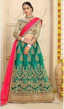Sale Up to 40% Off  Latest Party Wear Style Cheper Price Lehenga Choli Online #heenastyle Shopping at https://www.heenastyle.com/lehengas Follow us @Heenastyle