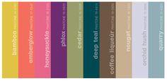 Pantone Fashion Report for Fall 2011