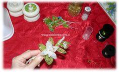 Tutorial fiori di perline: il giglio