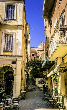 Apartments in Kassiopi Corfu. Nikos-Cassiopeia Apartments are located in the beautiful village of Kassiopi Corfu Places To Travel, Places To See, Places Around The World, Around The Worlds, Greece Rhodes, Corfu Town, Corfu Island, Holiday Places, Mellow Yellow