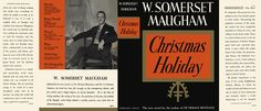 Christmas Holiday. W. Somerset Maugham. Dust jacket