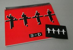 Check out this item in my Etsy shop https://www.etsy.com/listing/533428965/spiral-notebook-kraftwerk-avant-garde-3d