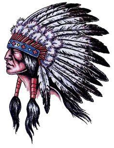 indio americano, tattoo desenho