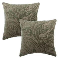 Shop for Sherry Kline Chenille Scroll Paisley 20-inch Reversible Pillow (Set of 2). Get free shipping at Overstock.com - Your Online Home Decor Outlet Store! Get 5% in rewards with Club O!