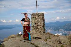 Karma on Mount Løvstakken, Bergen, Norway Photo: Monica