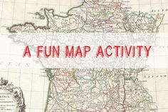 """One of the activities I do with my beginners involves a """"map."""" Lots of CI and repetitions - and no copies to make!"""