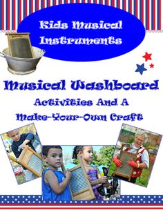 The washboard is a great example of a musical instrument made from a simple household item.  This mini-lesson shares the background of the washboard in Cajun, old-timey and Americana music as well as a fun MYO washboard craft that uses recycled and on-hand materials.  Great for a classroom, homeschool, summer camp or family musical fun!