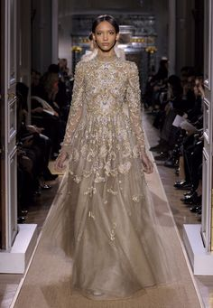 Valentino Haute Couture dress spring/summer 2012 - couture paisleys?
