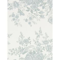 Garden Shop Toile Blue by Ralph Lauren Fabric