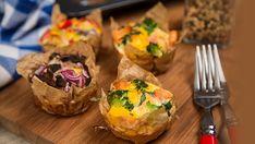 Vajíčkový raňajkový mafin Tacos, Mexican, Ethnic Recipes, Food, Essen, Meals, Yemek, Mexicans, Eten