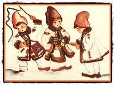 Anul Nou, Disney Characters, Fictional Characters, Folk, Teddy Bear, Disney Princess, Winter, Moldova, Animals