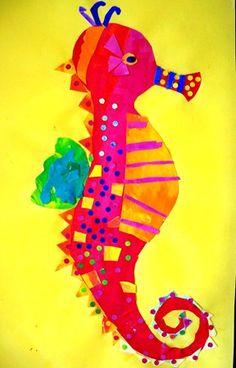 Artsonia Art Museum : mister seahorse