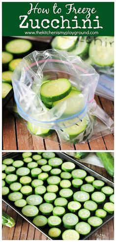 How to Freeze Zucchini Freezing Vegetables, Canning Vegetables, Frozen Vegetables, Fruits And Veggies, Freezing Onions, Freezing Fruit, Freezing Yellow Squash, Freeze Squash, Frozen Meals