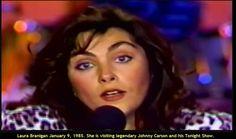 """Laura 1985, Johnny Carson """"The Tonight Show"""""""