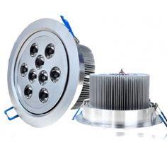 LED Plafonnier 9 WATTS 12VOLTS DIM